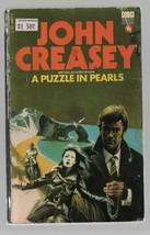 A Puzzle in Pearls - John Creasy - PB - 1971 - Corci Books - Patrick Daw... - $2.70