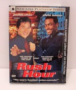 RUSH HOUR New Line Platinum Series DVD Jackie Chan Chris Tucker NEW! - $3.99