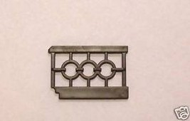 Playmobil 5300 5301 Victorian Mansion Rail Railing short - $13.99