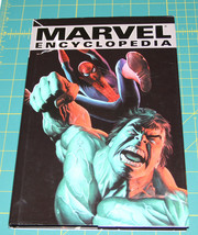 MARVEL ENCYCLOPEDIA book: Ultimate Guide to Marvel Universe, hardcvr, retail $30 - £16.14 GBP