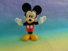 2013 Mattel Disney Mickey Mouse PVC Figure Bends at Waist - as is - $2.92