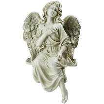"Northlight 13.75"" Sitting Angel  Outdoor Garden Statue - $43.30"