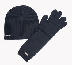 DSQUARED2 Women's Wool Knit Hat & Gloves Set in Navy Made in ITALY BNWT ... - $79.75