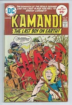 Kamandi 26 The Last Boy on Earth DC Comic Book from 1975 Jack Kirby FN C... - $3.59