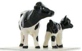 Hagen Renaker Miniature Holstein Cow and Calf Ceramic Figurine Set image 8