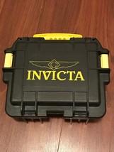 Invicta Impact 3 Slot Dive Case Watch Storage Case - Black and Yellow 45 - $50.00