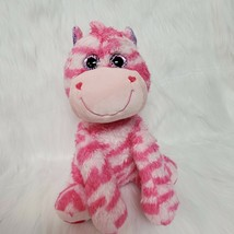 "15"" Inter-American Zebra Horse Pink Striped Plush Stuffed Animal Toy B227 - $29.99"