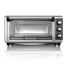BLACK+DECKER TO3250XSB 8-Slice Extra Wide Convection Countertop Toaster ... - $119.95