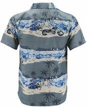 Men's Hawaiian Tropical Beach Party Button Up Casual Dress Shirt w/ Defect - XL image 3