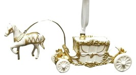 Horse & Carriage-Painted - Boxed Wedgwood Christmas Ornament by WEDGWOOD - $79.19