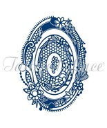 Tattered Lace Dies ~ Royal Lace 2 Oval, 10.4cm x 14.3cm  TTLD1077 RETIRED! - $33.96