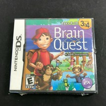 Brain Quest: Grades 3 & 4 (Nintendo DS, 2008) Game, Case, and Manuals NE... - $26.71