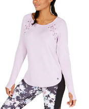 Ideology Tie-Detail Top (Lilac Moon, M) - $32.55