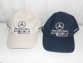 Mercedes Benz RBM of Atlanta Lot of 2 Hats Caps Hat Cap - $34.65