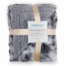 Rose Home Fashion RHF Faux Fur Throw Blankets, Gothic Decor, Fuzzy Blank... - ₹3,445.77 INR