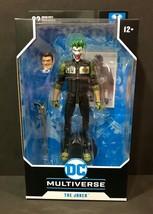 DC Multiverse/ McFarlane - Batman: White Knight Series GCPD JOKER Action... - $31.63