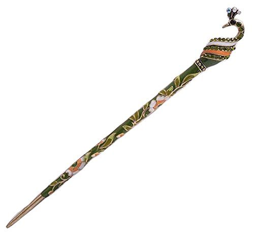 Primary image for [Peacock Green] Antique Hair Stick Elegant Hair Chopsticks Hair Accessory #01