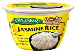 Golden Star Jasmine Rice Microwavable Bowl, Six Pack - $14.12