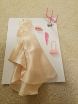 Vintage Barbie Enchanted Evening Dress TLC with extras - $12.95
