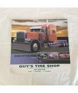 Kings Of The Road Big Truck 13 Month Wall Calendar 2012 Unmarked Tractor... - $4.94