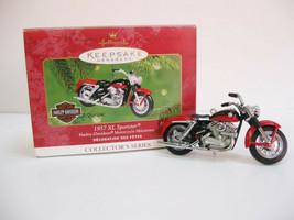 Harley Davidson Hallmark 1957 XL Sportster Hallmark Keepsake collector o... - $12.00