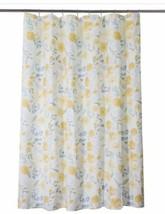 Threshold Floral Yellow Shower Curtain Nwop - $14.25