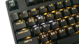 Micronics X40 Mechanical Gaming Keyboard English Korean Jixian Optical (Black) image 3
