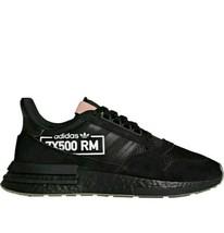 Adidas Zx 500 Rm Alphatype Black BB7443 Men's Ultraboost Nmd mens size 11 - $49.99