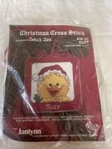 Janlynn Suzy's Zoo Suzy Christmas Cross Stitch Kit 3X3 Holiday Ornament ... - $14.49