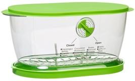 Fruits Vegetable Lettuce Keeper Saver Bowl Container Colander Oblong Set... - $25.91