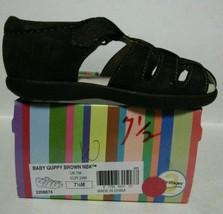 NEW STRIDE RITE Baby Guppy Brown Nubuck Sandals (Size 7.5 M) - $19.95