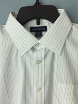 LANDS END Dress SHIRT Size: 16.5 x 37 TALL (LARGE Tall New SHIP FREE Tra... - $59.00