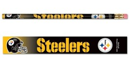 Pittsburgh Steelers Pencil 6 Pack [Free Shipping]**Free Shipping** - $9.99