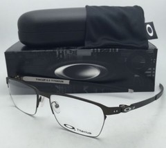 New OAKLEY Titanium Eyeglasses TINCUP 0.5 OX5099-0353 53-18 Powder Pewte... - $249.99