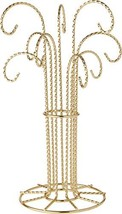 "Bard's 9 Arm Gold-Toned Ornament Stand, 12"" H x 6.75"" W x 6.75"" D - $60.39"