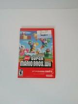 New Super Mario Bros. Wii (Nintendo Wii, 2009) CIB Complete w/ Manual - ... - $35.00