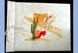 1940 vintage PHOTO ALBUM mexican cover FORT MCCLARY+ - $42.50