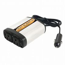 Smart AC 200W Power Inverter with USB Port Laptops Mobile Appliances AC Outlets - $33.25