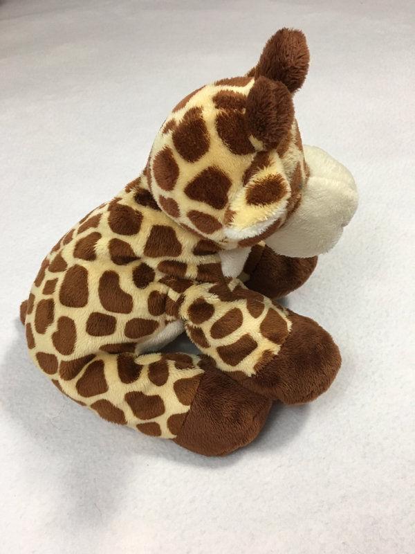 Ty Pluffies Tiptop Giraffe Plush Stuffed Animal Brown Tan White 2010 Safari