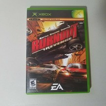 Burnout Revenge Xbox Original Video Game Complete - $8.75