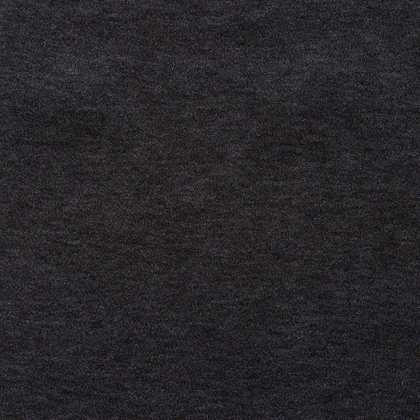 1.25 yds Maharam Upholstery Fabric Alpaca Velvet Charcoal 465901–006 NW