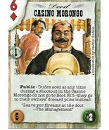 Dead Lands Playing Card- Casino Morongo - $1.00