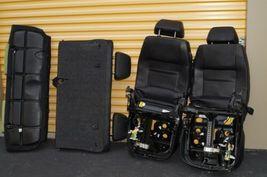 00-04 Volkswagen Vw Beetle Bug Hatchback Turbo GLS Leather Seat Set Green & BLK image 10