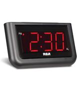"Digital Alarm Clock Large 1.4"" LED Display With Brightness Control Relia... - $27.93"