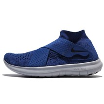 WOMEN'S NIKE FREE RN MOTION FK 2017 SHOES SIZE 10.5 binary blue black 88... - $65.07