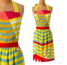 Anthropologie Primavera Spectrum Apron Colorful Hostess Mom Shower Gift NWT - £21.65 GBP