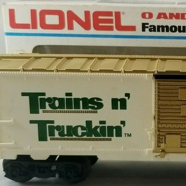 Primary image for Lionel Trains n' Truckin' Box Car O Gauge Collectors Series Rolling Stock 6-7803