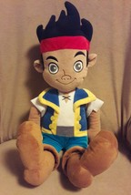 DISNEY Jake & The Never Land Pirates Stuffed Animal JAKE Large Plush Dol... - $10.21