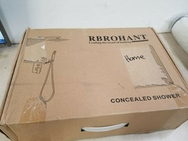 Rbrohant - Brushed Nickel Concealed Bathtub Faucet Set Cheap Shower System - $104.45