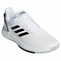 Adidas Men's Court Shoes - WHITE or BLACK  (Select Size) FREE RETURNS  - $38.61